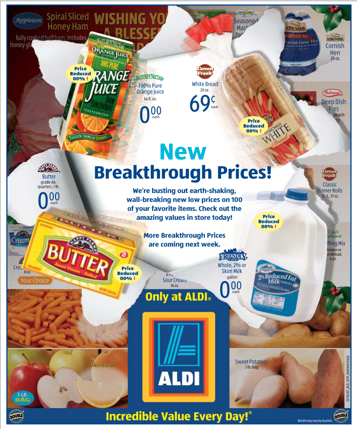 ALDI Breakthrough Flyer